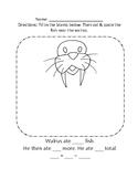 Walrus Math Handout Arctic Animal