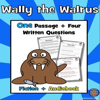 Walrus Reading Comprehension: Arctic Animals Reading: Winter Reading Passage