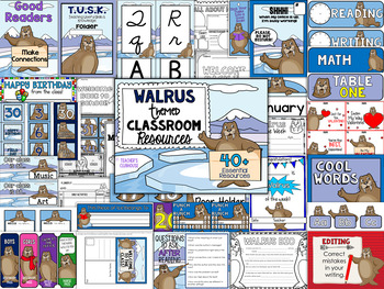 Walrus Theme Decor Pack