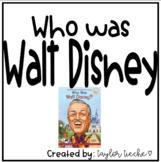 Walt Disney Graphic Organizer