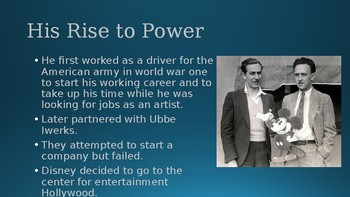 Walt Disney Leadership Slideshow