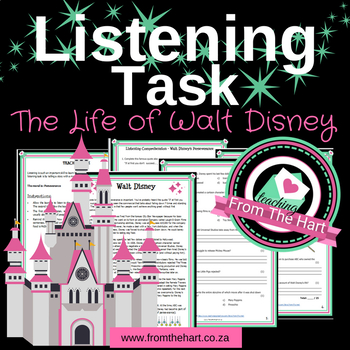 Walt Disney (Perseverance) - Listening Test