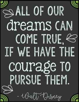 Walt Disney Quote Posters