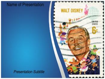 Walt Disney PowerPoint Template