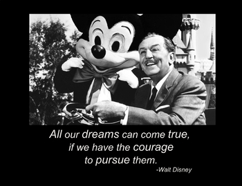 Walt Disney Quote 1