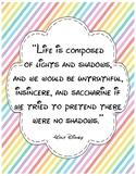Walt Disney Quotes in Bright Colors