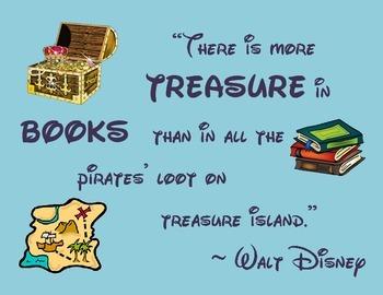 Walt Disney Reading Poster