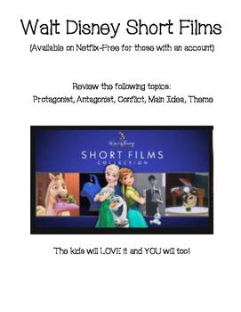 Walt Disney Short Films Lit. Term Practice