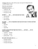Walt Disney - ( Listening, Writing, Reading Comprehension)