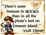 Walt Disney Treasure Quote