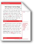 Walt Disney's Cartoon Magic (Gr. 3/Week 1)