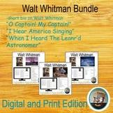 Walt Whitman Bundle, Poetry Analysis, Close Reading, Literary Devices