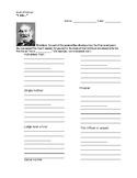 """Walt Whitman """"I am..."""" Creative Poetry Worksheet"""