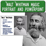 Walt Whitman Magic Portrait Video & PowerPoint for Author Study
