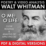 Walt Whitman, O Me! O Life!, Poetry Analysis & Non-Fiction Media Literacy