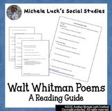 Walt Whitman Poem Reading Guide