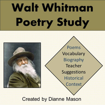 Walt Whitman Poetry Study