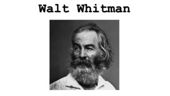 Walt Whitman introductory PowerPoint/ Equal Rights for All