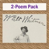Walt Whitman's 2-Poem Pack: 2 Poems, 2 Reading Questions, & 2 Keys