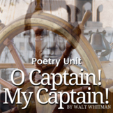 O Captain! My Captain! by Walt Whitman Activity Pack and Quiz