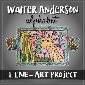 Walter Anderson Alphabet Project