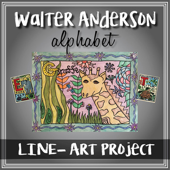 Line - Walter Anderson Alphabet Project