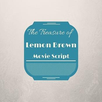"Walter Dean Myer's ""The Treasure of Lemon Brown"" Movie Script"