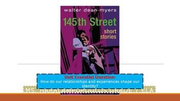 "Walter Dean Myers ""Bridges"" PowerPoint"