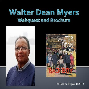Walter Dean Myers Brochure and Webquest