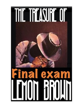 "Walter Dean Myers ""The Treaure of Lemon Brown"" Quiz"