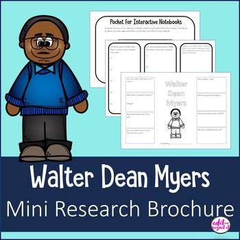 Walter Dean Myers Mini Research Brochure