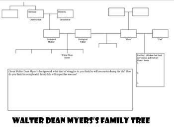 Walter Dean Myers's Family ... by WorkingMommy | Teachers Pay Teachers