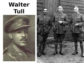 Walter Tull Footballer and 1st Black British Army Officer