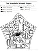 Walter's Wonderful Web: A Spider's Shapes Lesson: Identify & Graph 2D shapes