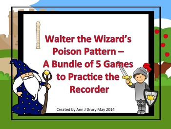Walter the Wizard's Poison Pattern - A Bundle of Games to