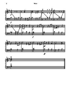 Waltz for Tone Chimes/ Choir Chimes