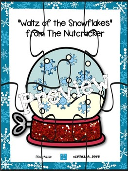 Waltz of the Snowflakes (from The Nutcracker) Puzzles