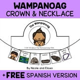 Wampanoag Tribe Activity Crown and Necklace