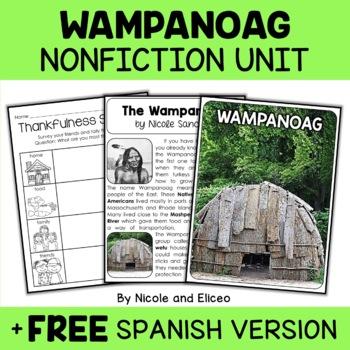 Nonfiction Unit - Wampanoag Activities