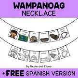 Wampanoag Tribe Activity Necklace Craft