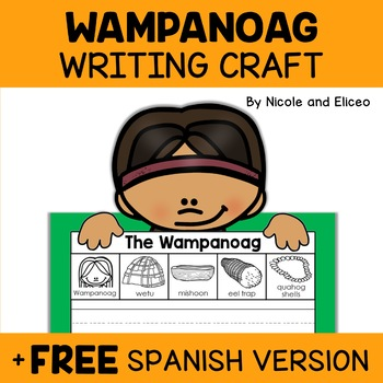 Wampanoag Beginner Writer Craft Activity