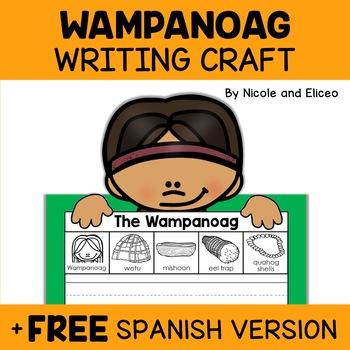 Writing Craft - Wampanoag Craft Activity