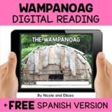 Wampanoag Reading Comprehension for Google Classroom - Dis