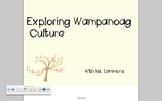 Wampanoag Native Americans Thanksgiving Lesson