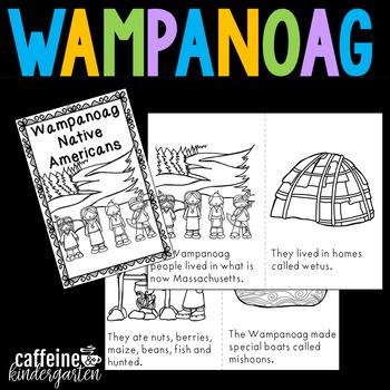 Wampanoag Native Americans - Wampanoags Unit