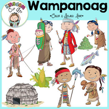 Wampanoag People Clip Art