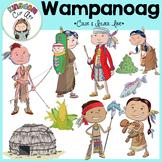 Wampanoag People Clip Art