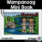 Wampanoag Tribe Mini Book for Early Readers - Native Ameri