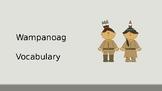 Wampanoag Vocabulary