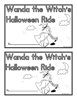 Wanda the Witch's Halloween Easy Reader and Student Writin